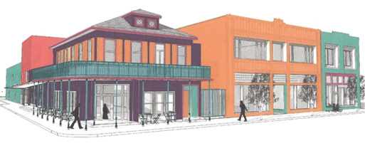 New Orleans Healing Center Exterior Illustration