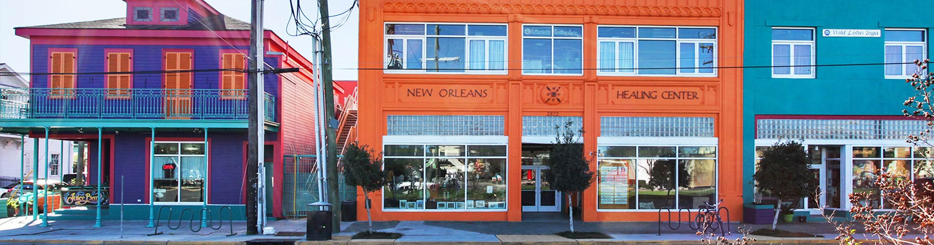 New Orleans Healing Center Exterior